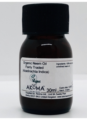 Akoma Organic Neem oil 30ml