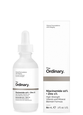 The Ordinary Niacinamide (Vitamín B3) 10% + Zinc 1%