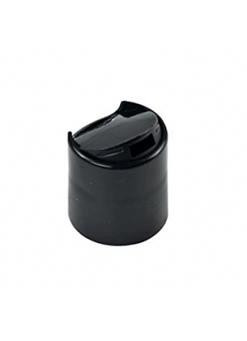 24mm čierny uzáver disk top