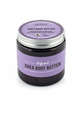 Infused Shea Body Butter. A Nourishing and Calming Balm with Lavender and Evening Primrose 125ml
