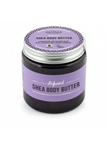AKOMA - Infused Shea Body Butter. A Nourishing and Calming Balm with Lavender and Evening Primrose 125ml