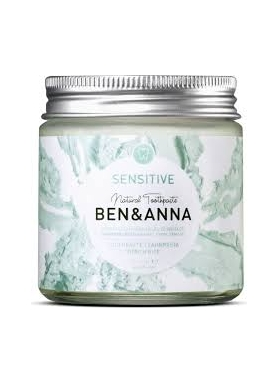 BEN&ANNA Sensitive Toothpaste 100ml Glass Jar