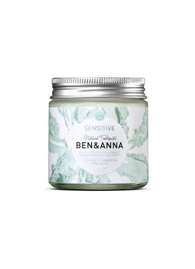 BEN&ANNA Sensitive Toothpaste 100ml Glass Jar