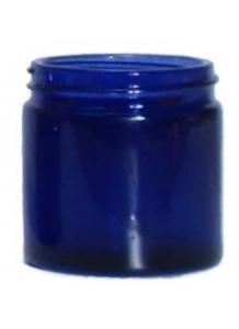 15ml blue glass jar 38mm neck