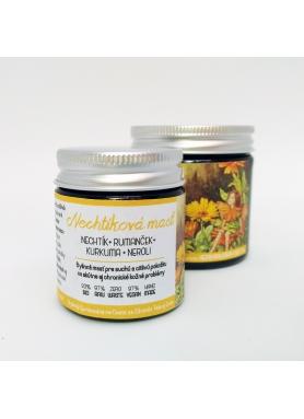 Herbárium - Nechtíková masť s rumančekom, kurkumou a neroli