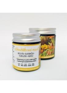 Herbárium Projekt - Nechtíková masť s rumančekom, kurkumou a neroli