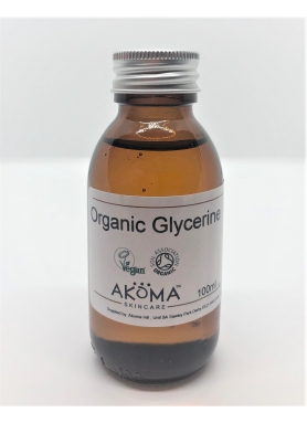 Glycerin Certified Organic (Food & Cosmetic Grade) 100ml