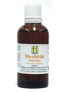 Herbárius Nechtík lekársky tinktúra 50ml