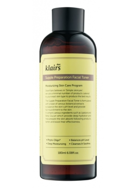 DEAR KLAIRS - Supple Preparation facial toner 180ml