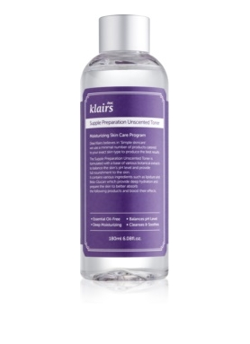 DEAR KLAIRS - Supple Preparation Unscented face toner 180ml