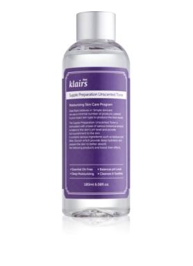DEAR KLAIRS - Supple Preparation Unscented hydratačné tonikum 180ml