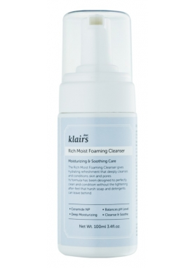 DEAR KLAIRS - Rich Moist Foaming Cleanser 100ml