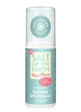 Salt of the Earth - Deo sprej Pure Aura uhorka melón 100ml