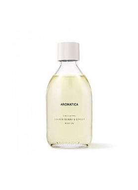 AROMATICA - Circulating Body Oil Juniper Berry & Ginger 100ml