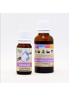 VONIAVA - Vanilka Hydroalkoholický extrakt 10ml