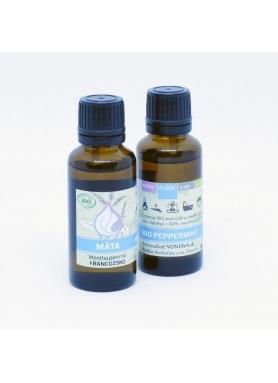 Voniava Organic peppermint essential oil 30ml