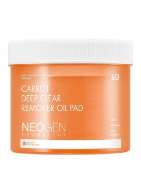 NEOGEN - Dermalogy Carrot Deep Clear Remover Oil Pad  60 pads