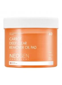 NEOGEN - Dermalogy Carrot Deep Clear Remover Oil Pad 60ks