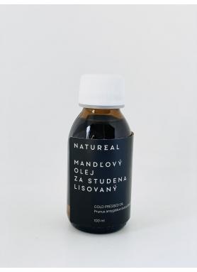 Natureal Mandľový olej za studena lisovaný 100ml