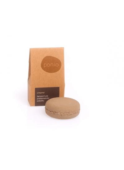 Ponio solid shampoo with ichtamol and zinc 30g/60g