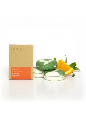 PONIO - Pomaranč & eukalyptus - žihľavový šampúch 30g