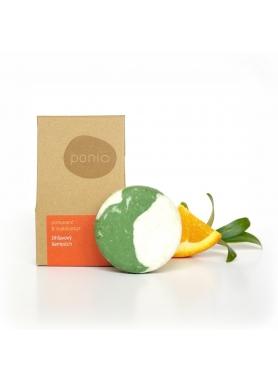 PONIO - Pomaranč & eukalyptus - žihľavový šampúch 60g