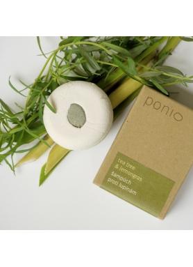 PONIO - Tea tree & lemongrass - solid anti-dandruff shampoo 30g