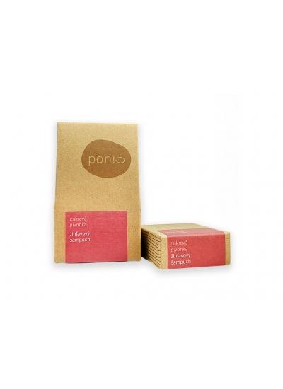 Sugar peony - nettle solid shampoo 30g