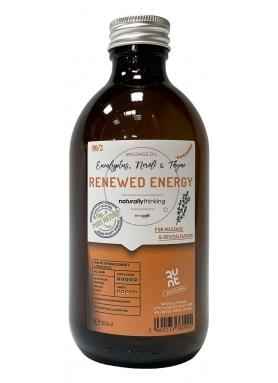 Renewed Energy - uplifting massage oil 300ml