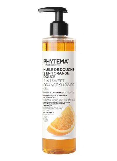 PHYTEMA -  SHOWER OIL 2in1 250ml