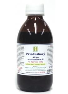 Herbárius Prieduškový sirup s vitamínom C 300g