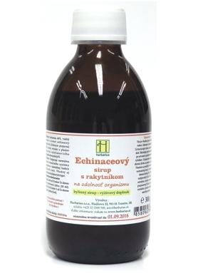 HERBÁRIUS - Echinaceový sirup s rakytníkom 250g