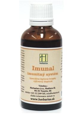 HERBÁRIUS - Imunal tincture 50ml