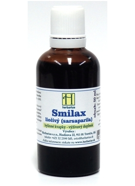 HERBÁRIUS - Smilax liečivý tinktúra 50ml