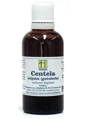 HERBÁRIUS - Centela asiatica tincture 50ml
