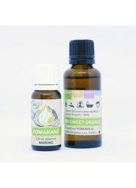 VONIAVA - Bio pomaranč éterický olej 30ml
