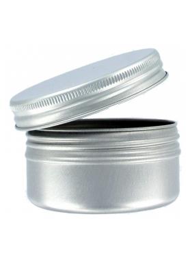 100ml Aluminium Jar  with closure
