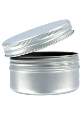 Aluminium jar 15ml with closure