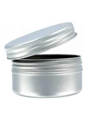 Aluminium Jar 30ml with closure