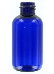 Blue Plastic Bottle 50ml with 20mm neck