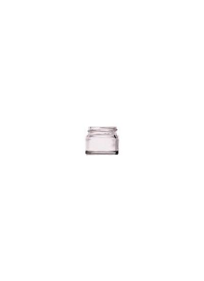 15ml Clear glass jar 38mm neck