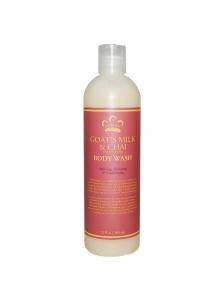 Bio Bambucký sprchový šampón Kozie mlieko & Chai 384ml