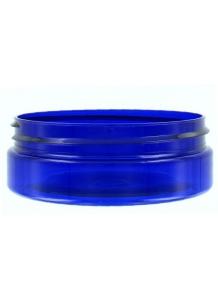 50ml Blue Plastic Jar  70mm neck
