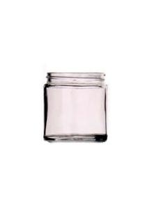 GLASS JAR 60ml clear 48mm neck