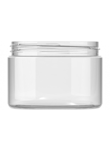 300ml Clear Plastic Jar 89mm neck PET Plastic