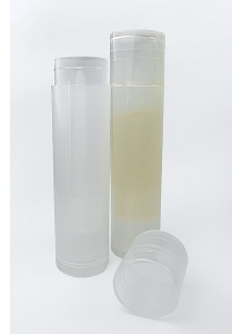 4.3g Transparent Lip Balm Tube with Cap & Twist-up Base